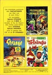 Verso de Strange -140- Strange 140