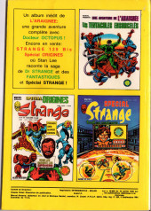 Verso de Strange -141- Strange 141
