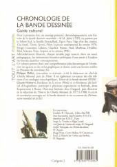 Verso de (DOC) Études et essais divers - Chronologie de la bande dessinée