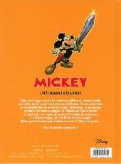 Verso de Mickey (Histoires longues) -1- L'épée magique d'excalidor
