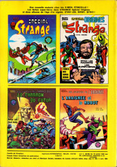 Verso de Strange -150- Strange 150