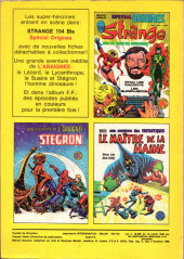 Verso de Strange -154- Strange 154