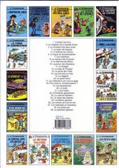 Verso de Le scrameustache -1b1997- L'héritier de l'Inca