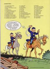 Verso de Les tuniques Bleues -19Fina- Le David