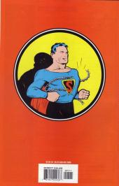 Verso de Superman (1939) -1b- The complete story of daring exploits of the one and only Superman