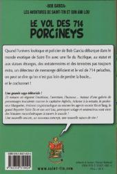 Verso de Les aventures de Saint-Tin et son ami Lou -2- Le vol des 714 porcineys