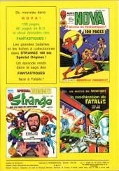 Verso de Strange -160- Strange 160