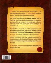 Verso de Le triangle Secret -HS4- Les arcanes du triangle secret