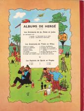 Verso de Tintin (Historique) -2B05- Tintin au Congo