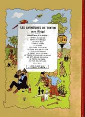 Verso de Tintin (Historique) -10B04- L'étoile mystérieuse