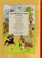 Verso de Tintin (Historique) -11B04- Le Secret de la Licorne