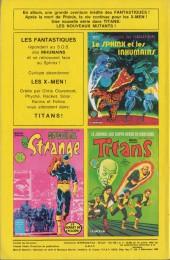 Verso de Strange -168- Strange 168