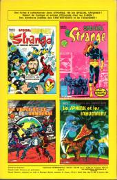 Verso de Strange -169- Strange 169