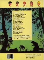 Verso de La patrouille des Castors -4d- Sur la Piste de Mowgli