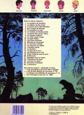 Verso de La patrouille des Castors -6d- Le trophée de rochecombe