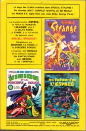 Verso de Strange -180- Strange 180