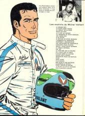 Verso de Michel Vaillant -18c1977- De l'huile sur la piste !