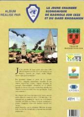 Verso de Il était une fois Bagnols sur Cèze et sa région