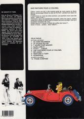 Verso de Clifton -6a86- Une panthère pour le colonel