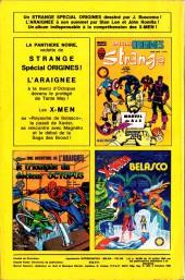 Verso de Strange -190- Strange 190