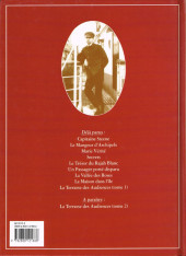 Verso de Théodore Poussin -9- La Terrasse des Audiences - Tome 1