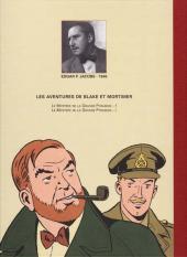 Verso de Blake et Mortimer -5ES- Le Mystère de la Grande Pyramide - Tome 2