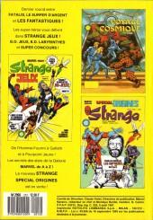 Verso de Strange -212- Strange 212
