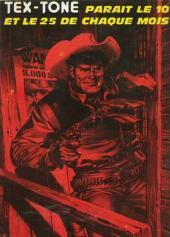 Verso de Tex-Tone -336- Le coyote