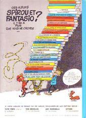 Verso de Spirou et Fantasio -3e77- Les chapeaux noirs