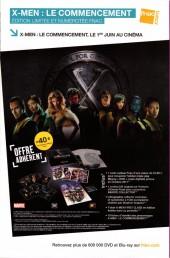 Verso de X-Men (Marvel France 2e série - 2011) -4- Le retour du messie (7/7)