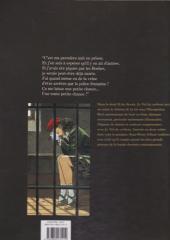 Verso de Le vol du corbeau -2b2011- Le vol du corbeau - 2
