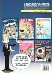 Verso de Zapping generation -5- Trop voyant !