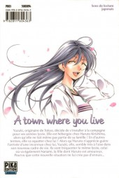 Verso de A town where you live -1- Tome 1