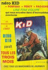 Verso de Tex-Tone -480- Les mystères du
