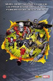 Verso de Marvel (Les grandes sagas) -4- X-men