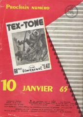 Verso de Tex-Tone -184- Le vendeur de Dodge City