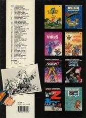 Verso de Spirou et Fantasio -24c89- Tembo Tabou