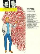 Verso de Ric Hochet -24'- La Piste rouge