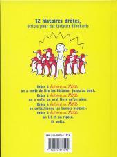 Verso de (AUT) Sattouf - Histoires de rire