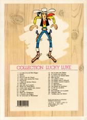Verso de Lucky Luke -1c1988- La mine d'or de Dick Digger