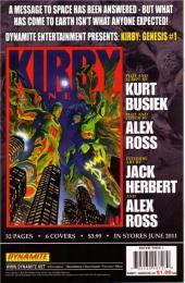 Verso de Kirby: genesis volume 1 -0- Issue 0