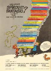 Verso de Spirou et Fantasio -24b80- Tembo Tabou