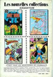 Verso de Superman (Poche) (Sagédition) -9394- Superman poche