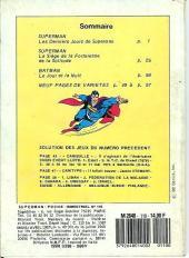 Verso de Superman (Poche) (Sagédition) -110- Superman poche