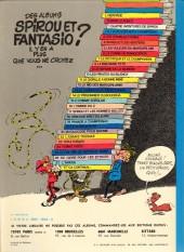 Verso de Spirou et Fantasio -1d1979- 4 aventures de Spirou ...et Fantasio