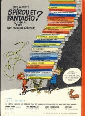 Verso de Spirou et Fantasio -2e77b- Il y a un sorcier à Champignac