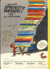 Verso de Spirou et Fantasio -5e77- Les voleurs du Marsupilami