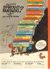 Verso de Spirou et Fantasio -6c1980- La corne de rhinocéros