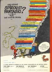 Verso de Spirou et Fantasio -7e77- Le dictateur et le champignon