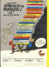 Verso de Spirou et Fantasio -8d80- La mauvaise tête